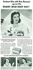 Camay Mild Soap Diet, 1942 (gameraboy) Tags: vintage ad ads advertising advertisement vintagead vintageads 1942 1940s