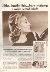 Drene shampoo, 1942 (gameraboy) Tags: vintage ad ads advertising advertisement vintagead vintageads 1942 1940s