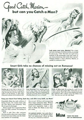 Mum soap - Good catch, but can you catch a man. 1942 ad (gameraboy) Tags: vintage ad ads advertising advertisement vintagead vintageads 1942 1940s