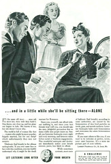 Listerine ad, 1942 (gameraboy) Tags: vintage ad ads advertising advertisement vintagead vintageads 1942 1940s