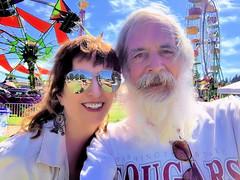 Chris Knudsen Shannon Abbott-Olson Lakefair Olympia WA 2019 Ferris Wheel (olydragon) Tags: chris knudsen shannon abbottolson lakefair olympia wa july 2019 ferris wheel