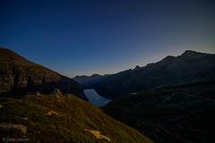 Zervreilasee unter Sternen (sMäc) Tags: nacht night wandern zervreilahorn hiking stars mountains sterne valsertal vals zervreila alpen berge