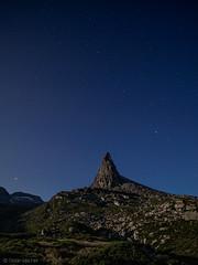 Zervreilahorn im Mondlicht (sMäc) Tags: nacht night wandern zervreilahorn hiking stars mountains sterne valsertal vals zervreila alpen berge