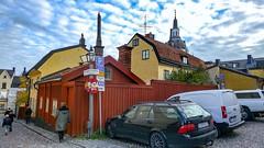 Svartensgatan/Fiskargatan in Stockholm, Sweden 27/10 2013. (photoola) Tags: stockholm woodenhouse trähus södermalm sweden photoola