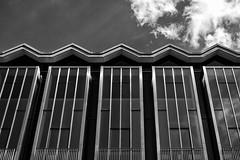 Bremen Landtag (LG_92) Tags: bremen architecture modern germany 2019 nikon dslr d3100 monochrome blackandwhite blackwhite clouds sky facade