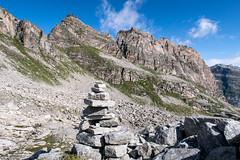 Seitenansicht (sMäc) Tags: wandern hiking valsertal berge zervreilahorn mountains zervreila vals alpen