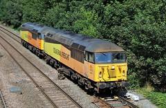 COLAS Rail 56087 - Chesterfield (the mother '66' 66001) Tags: colasrail colas class56 56078 56087 chesterfield 0z56crewe nottingham nottinghameastcoft derbyshire rail railways ukrailways networkrail tapton taptonbridge