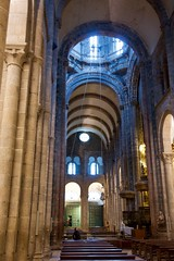 Transept with View of Tambour (Victoria Lea B) Tags: romanesque santiagocathedral santiagodecomposteles spain tambour transept