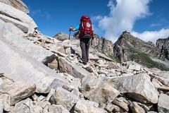 Über Stock und Stein. (sMäc) Tags: wandern zervreilahorn furggelti hiking valsertal berge mountains stefan zervreila alpen vals