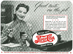 Pepsi-Cola, 1942 (gameraboy) Tags: vintage ad ads advertising advertisement vintagead vintageads 1942 1940s