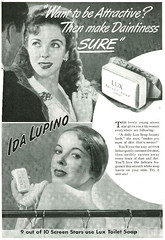 Ida Lupino for Lux Toilet Soap, 1942 (gameraboy) Tags: vintage ad ads advertising advertisement vintagead vintageads 1942 1940s