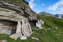 Wetterschutz (sMäc) Tags: wandern horaegga hiking valsertal berge zervreilahorn mountains zervreila alpen vals