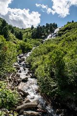 Wasserfall 4 (sMäc) Tags: wandern wasserfall zervreilahorn hiking mountains berge valsertal horabach zervreila alpen vals