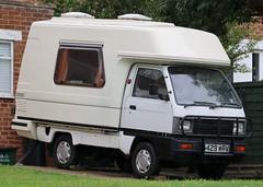 G429 WRV (Nivek.Old.Gold) Tags: 1989 bedford rascal pickup demountable romahome camper body 970cc cotswoldmotorcaravans