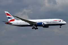 G-ZBJB British Airways Boeing 787-8 Dreamliner at London Heathrow Airport on 3 August 2019 (Zone 49 Photography) Tags: aircraft airliner aeroplane august 2019 london england egll lhr heathrow airport ba baw british airways boeing 787 788 8 dreamliner gzbjb