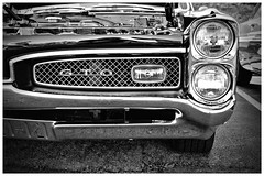 GTO (Silverio Photography) Tags: canon 60d 24mm primelens pancake carshow american foxborough massachuetts newengland musclecar suburb summer classic pontiac gto chrome photoshop topaz