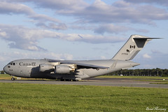 Royal Canadian Air Force C-17A CC-177 177703 (birrlad) Tags: dublin dub international airport ireland aircraft aviation airplane airplanes canada canadian rcaf airforce military canforce boeing c17 royal c17a cc177 177703 arrival arriving landed landing runway taxi taxiway