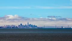 San Francisco Skyline & Bay Bridge (Hornplayer) Tags: sanfrancisco usa2019 usa 2019 sanmateobridge skyline baybridge bayarea bridge bay california californië kalifornien