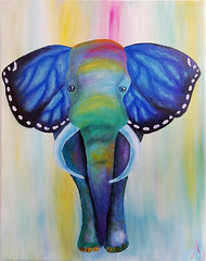 Elefly (*Aña*) Tags: art acryl painting