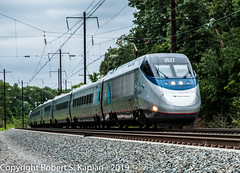 DSCF5408, West of Elkton, MD, 6-21-2019 (Rkap10) Tags: 2019withdaleforwilmingtonchapter acela albums amtrak locomotives maryland other places railroad