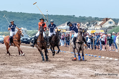 Beach Polo, Brean Sands11 (stagenutuk) Tags: polo beachpolo brean breansands horse horses game games chukka chukkas chukker chukkers somerset beach nikon70200f28 nikond500