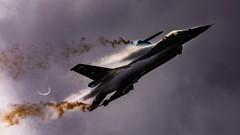 Vador Force (Steve Cooke-SRAviation) Tags: airplane display jet aeroplane airshow f16 vulcan redarrows mig fairford riat warplanes sraviation canonstevecooke 2019 f16fightingfalcon belgianairforce vadorforce
