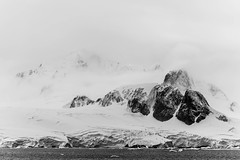 Antarctic Majesty (LauriNovakPhotography) Tags: rock winter polar glacier fog antarctica oneocean climatechange snow mountain withmytamron tamron100400