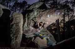 Coti Varano (Sinkaaa) Tags: albarracín teruel boulder escalada bosque naturaleza landscape paisaje piedra climbing photography sinkaaa luz sol noche verano summer sun night light