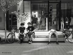 IMG_0774zwcSmall (hubert.doms) Tags: belgium mechelen malines stad stadszichten grotemarkt dijle duivelshuis korenmarkt bruul vismarkt ikamechelen ika