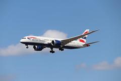 British Airways G-ZBJI LHR 05/08/19 (ethana23) Tags: planes planespotting aviation avgeek aeroplane aircraft airplane boeing 787 7878 ba britishairways speedbird