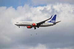 SAS LN-RRF LHR 05/08/19 (ethana23) Tags: planes planespotting aviation avgeek aeroplane aircraft airplane boeing 737 737800 sas
