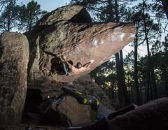Elias Varano (Sinkaaa) Tags: albarracín teruel boulder escalada bosque naturaleza landscape paisaje piedra climbing photography sinkaaa luz sol noche verano summer sun night light