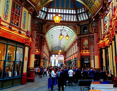 Leadenhall Market (Roy Richard Llowarch) Tags: market markets londonarchitecure londonengland londonmarkets architecture adult adultfun leadenhall leadenhallmarket thecity thecityoflondon victorian victorianarchitecture people places drinking drink booze boozing party tgif pubs pub bar bars shops restaurants london england english greatbritain british uk history historical historicengland historicbritain englishhistory britishhistory guys women men girls work workers unitedkingdom fun relaxation indoor cities city royllowarch royrichardllowarch friends europe european weekends weekend friendship friendships travel travelling daytrips potter harrypotter shopping alcohol relaxing color colour colourful colorful