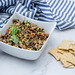 Black and Green Olive Tapenade with Crackers