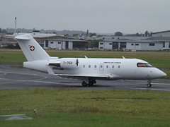 T-752 Bombardier Challenger 604 (Swiss Air Force) (Aircaft @ Gloucestershire Airport By James) Tags: gloucestershire airport t752 bombardier challenger 604 swiss air force bizjet egbj james lloyds