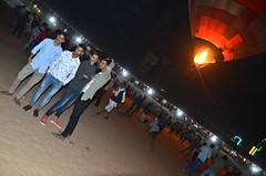 Poser Boys (Pedestrian Photographer) Tags: hot air balloon night boy boys pose pushkar camel fair fest festival indian