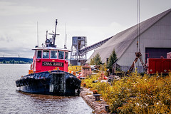 Chas. Asher, Hallet Dock 5 - Duluth MN USA, 08/16/19 (TonyM1956) Tags: transportation roensalvagecompany ships tug chasasher boat boats ship