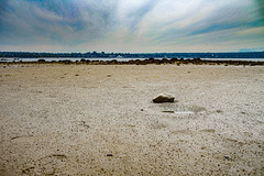Land and Sky (Photo Alan) Tags: vancouver canada landscape nature water waterfront beach sky clouds stone city cityscape cityofvancouver
