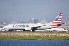 N817NN B737-823 American A/L (corrydave) Tags: 29558 b737 b737800 american boston n817nn