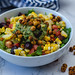 Mexican Salad with Chickpea, corn and tomato