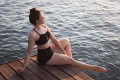 Underground Ballet (E3-F16) (Edward Zulawski) Tags: art artistic portrait ballet ballerina project woman girl water sea seascape landscape sun sunset sunlight brazil edwardzulawski ilhabela deck