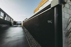 Perspective matters (imajane) Tags: jm181155thewall black urban 2019 imajane 10mm christchurch aotearoa