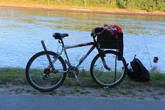 Fishing Bike, August 2019 (wildukuleleman) Tags: cape cod canal bourne ma