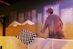 La CIUDAD cuenta lo que sus muros hablan - The CITY tells what its walls speak. (goma741) Tags: parque people círculo edificio travel líneas rótulo animado dibujo boceto carretera streetart paisaje geometría mosaico ilustración personas acera pintura retrato gente muro wall calle street urbano urban color colors arte art graffiti grafiti mundo world viajero external exterior andén arcén libre free escritura callejón árbol arquitectura ventana canon barcelona