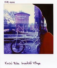 polaroidorig-051 (elsuperbob) Tags: instantfilm polaroid polaroidsx70 polaroidoriginals expired greenfieldvillage dearborn michigan detroit bicycles