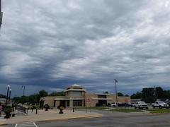 20190816_114740 (Explored 8/17/2019 #276) (tomcomjr) Tags: samsung cellphone galaxy android phonephotos clouds storm rain sky school church campus firstdayofschool