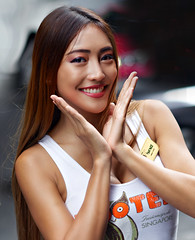 Khun Bow (Asiacamera) Tags: asiacamera bangkok thailand hooters sexy thai girl model 85mm