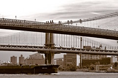 East River from Pier 17 (sjnnyny) Tags: nikond7500 tokinaatxpromacro100f28 nyc eastriver landscape dumbo brooklynbridge stevenj sjnnyny manhattanbridge suspensionbridges