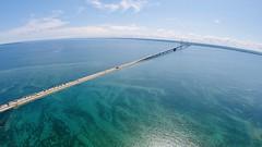 Drone at Mackinac bridge (Nick damico) Tags: michigan lake gopro drone bridge mackinac