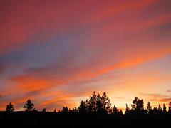 Sunset (13 August 2019) (Yellowstone, Wyoming, USA) 1 (James St. John) Tags: sunset sunsets august 2019 yellowstone wyoming